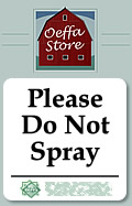 Do Not Spray
